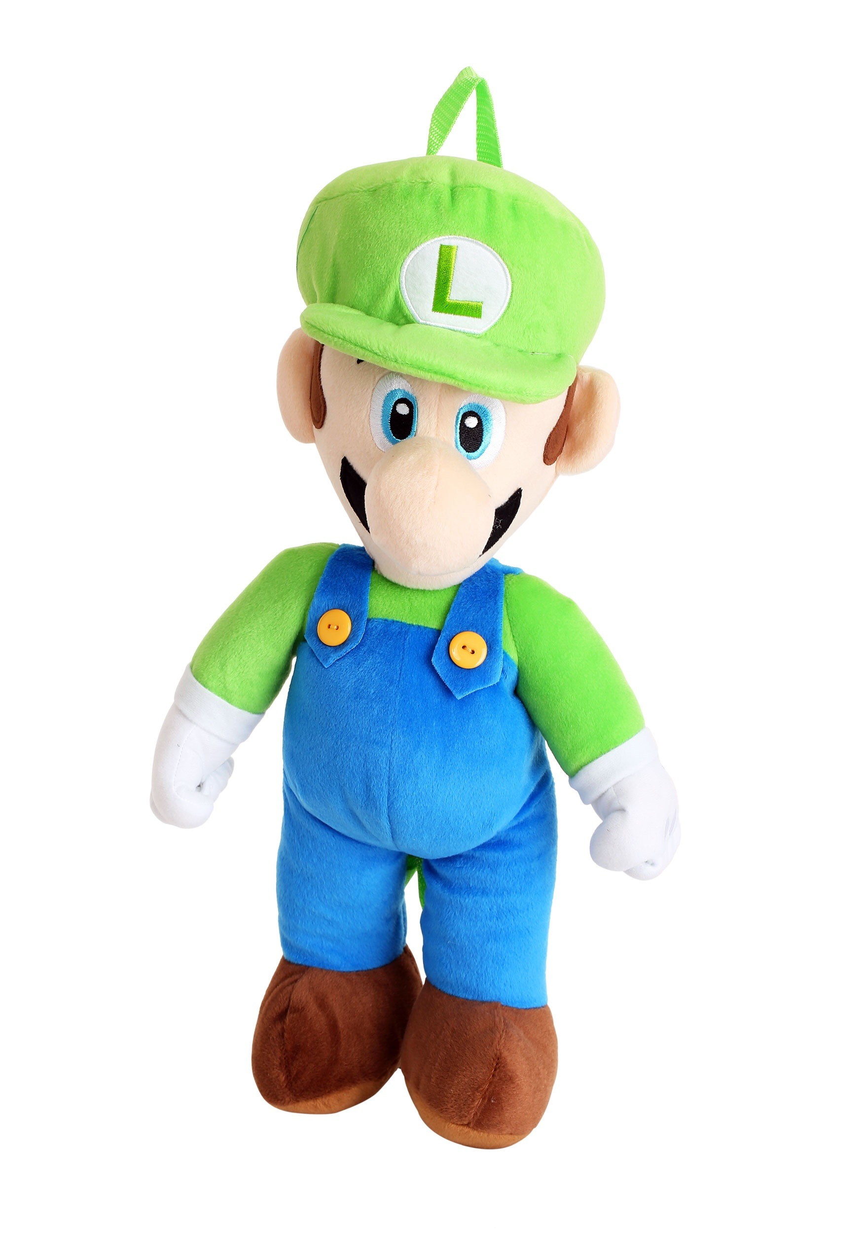 Luigi Plush Super Mario Backpack