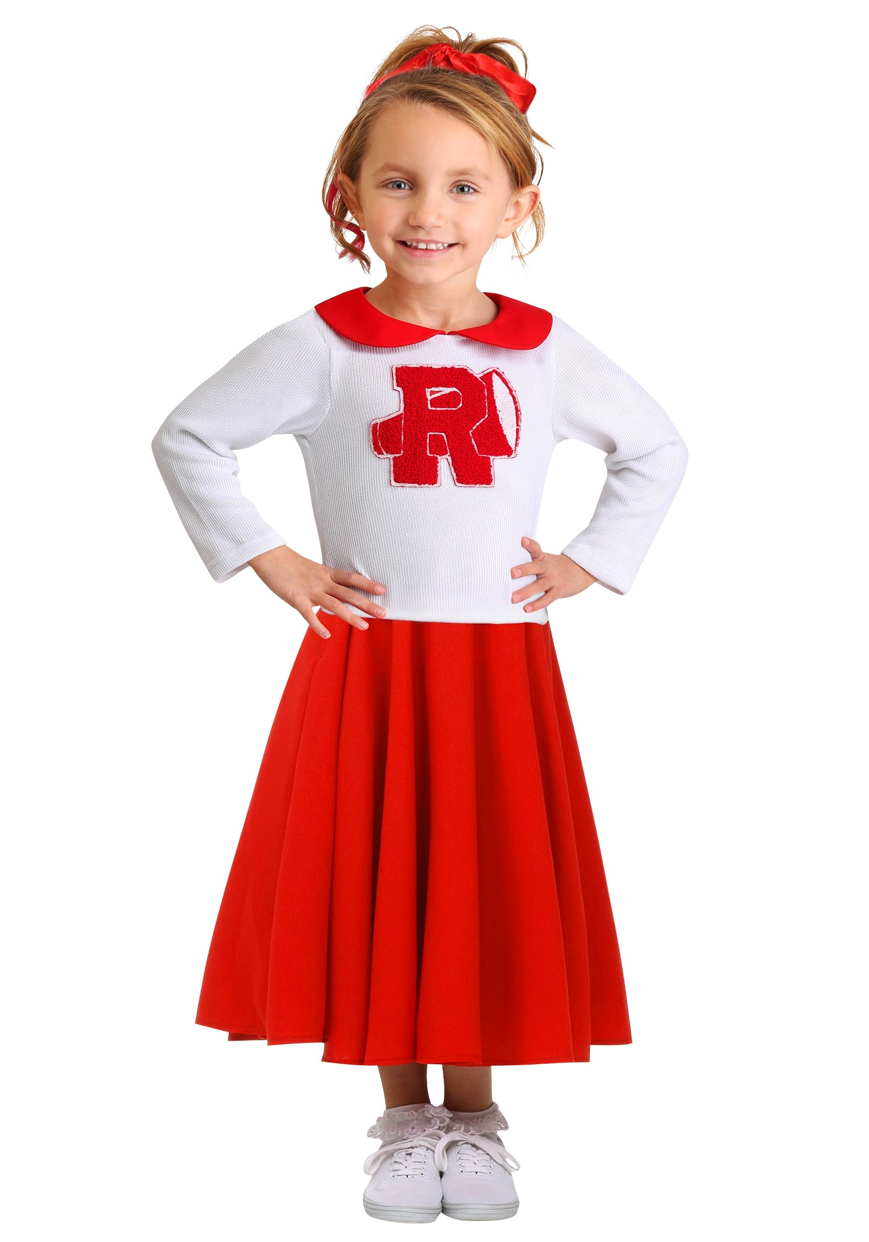 ed5396a5728 Grease Rydell High Toddler s Cheerleader Costume