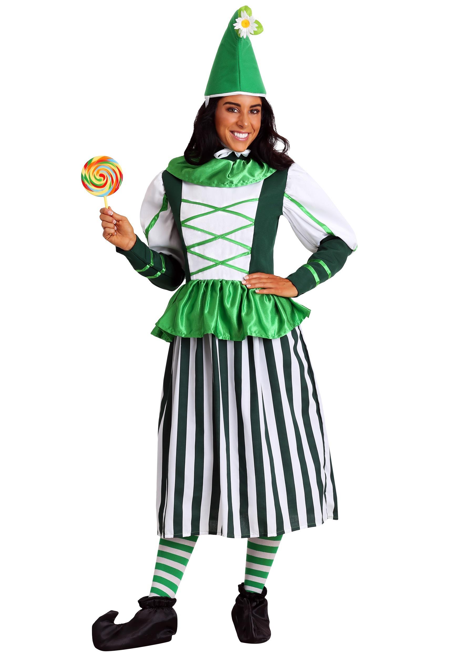 plus size deluxe munchkin woman costume