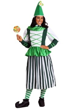 Plus Size Deluxe Munchkin Woman Costume update