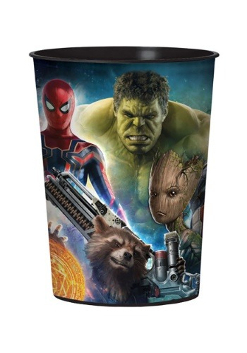 16 oz. Marvel Avengers Infinity Wars Plastic Party Cup