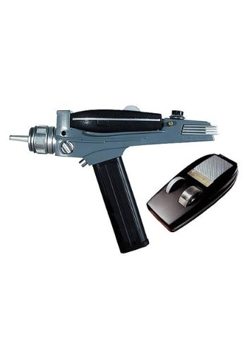 Click Here to buy Star Trek Tek Classic Phaser from HalloweenCostumes, CDN Funds