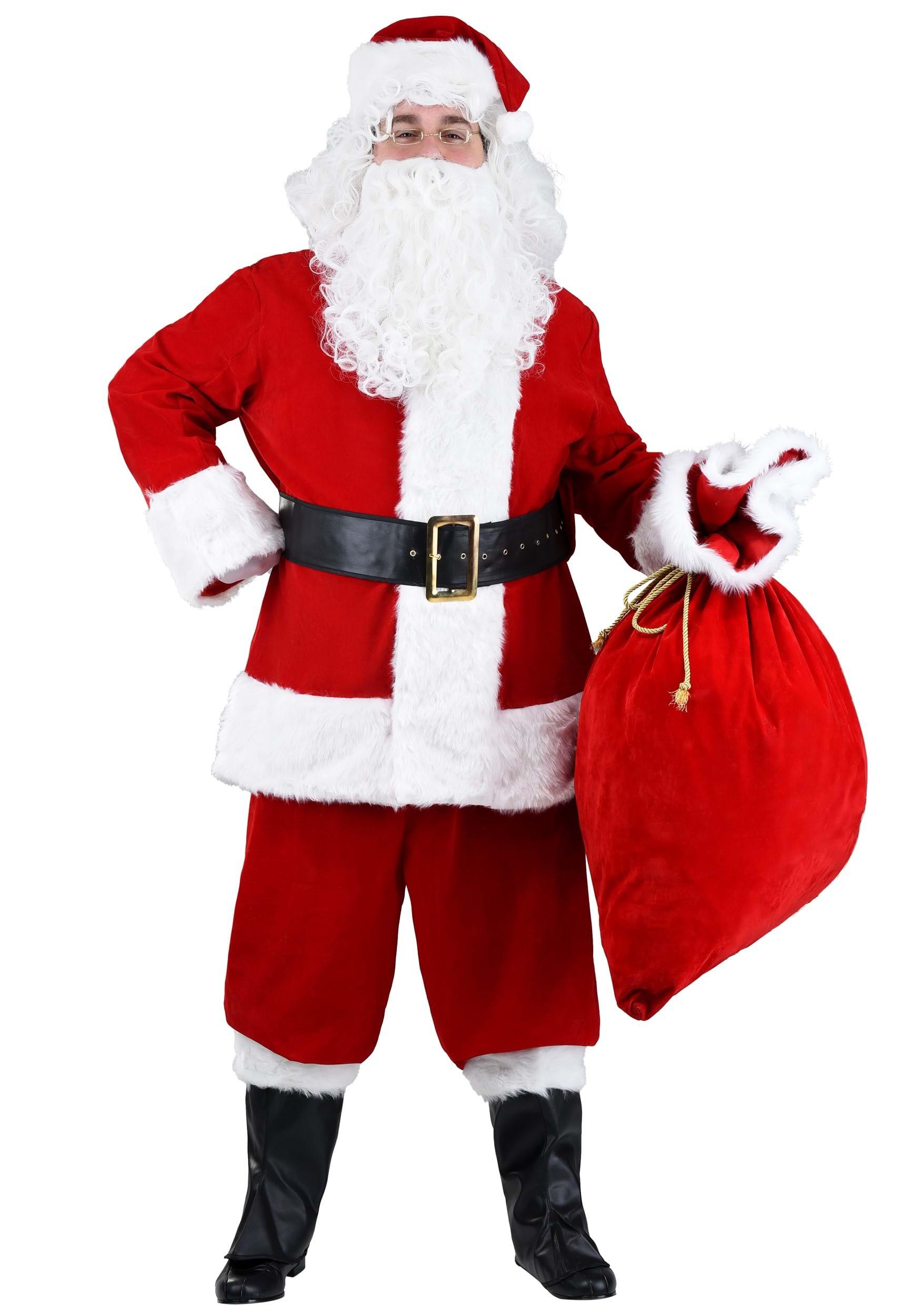 Plus size premiere santa suit x