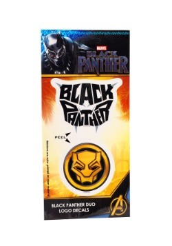 Marvel Black Panther Logo Duo 4x8 Decal