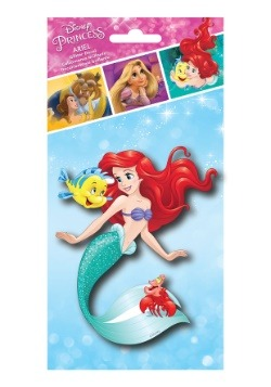 Disney Princess Ariel 4x8 Tri-langauge Glitter Decal