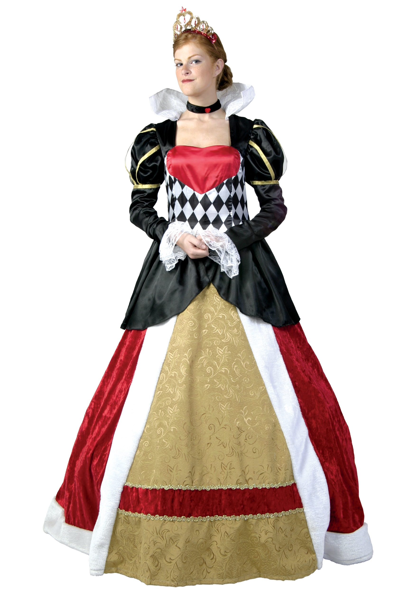 Plus Size Elite Queen of Hearts Costume  sc 1 st  Halloween Costumes & Plus Size Elite Queen of Hearts Costume 1X 2X 3X 4X 5X 6X