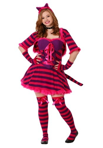 Click Here to buy Plus Size Sexy Wonderland Cat Costume from HalloweenCostumes, USA Funds & Shipping