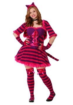 plus size sexy womens wonderland cat costume