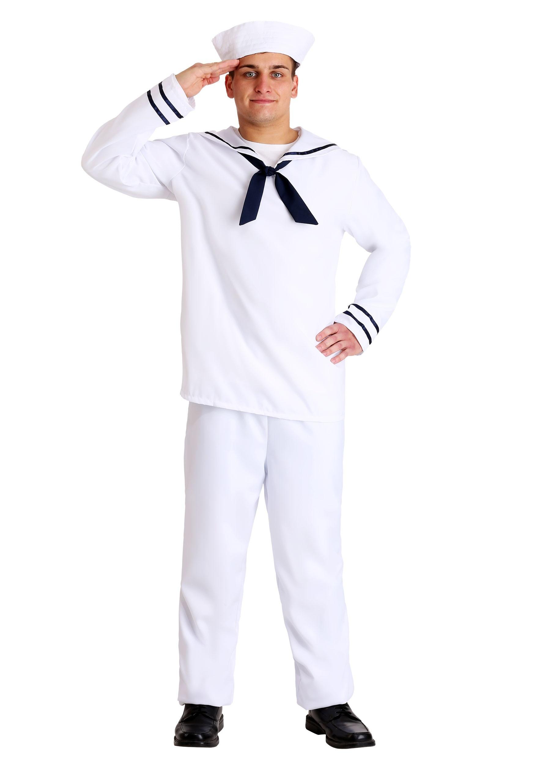 Plus Size Men\'s Sailor Costume