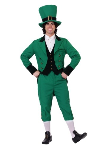Click Here to buy Plus Size Leprechaun Costume 2X 3X 4X 5X from HalloweenCostumes, CDN Funds