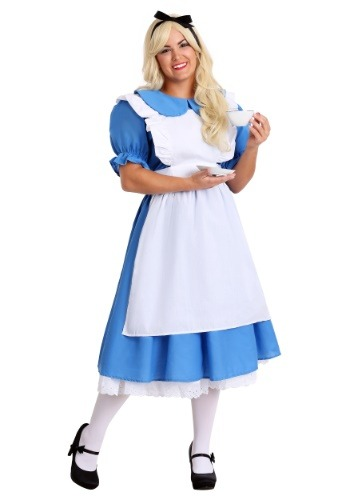 Click Here to buy Deluxe Plus Size Alice Costume from HalloweenCostumes, USA Funds & Shipping