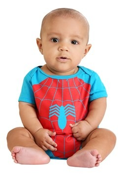 Infant Marvel Spider-Man and Incredible Hulk Onesie update1