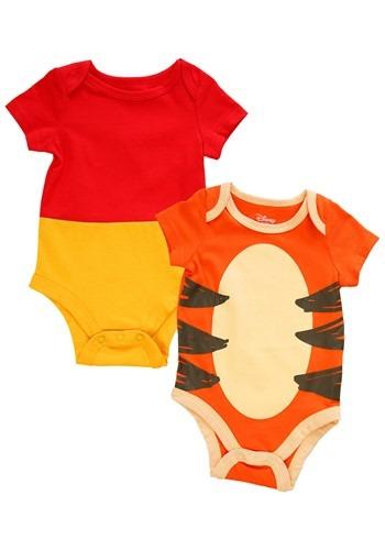 Infant 2 Pack Winnie The Pooh and Tigger Onesie UpdateMain
