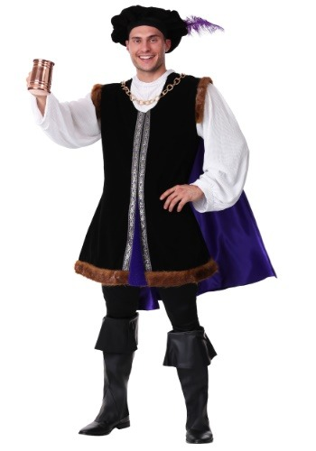 Click Here to buy Plus Size Noble Renaissance Man Costume from HalloweenCostumes, USA Funds & Shipping