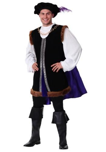 Plus Size Noble Renaissance Man Costume for Adults