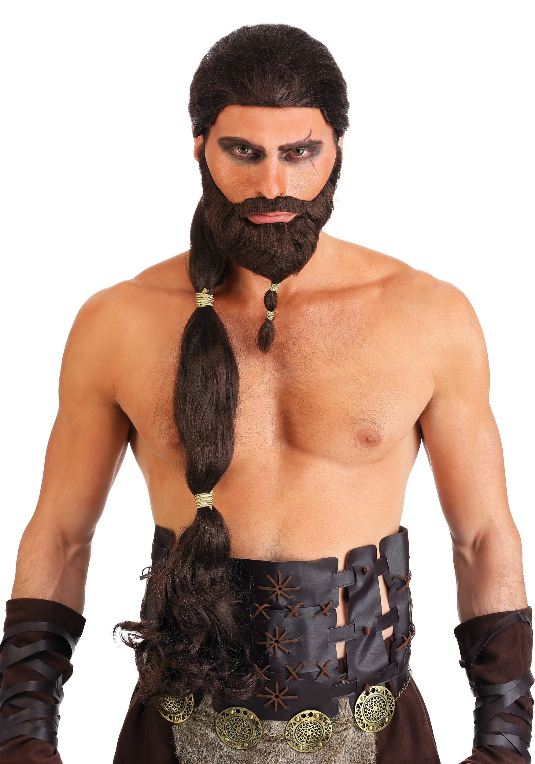 Game of Thrones Adult Costume Accessory Khal Drogo Arm Band /& Wrist Guard
