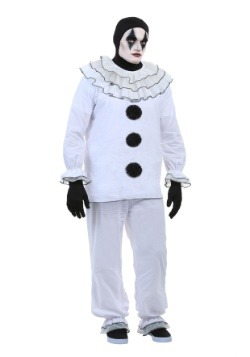 Plus Size Vintage Pierrot Clown Costume