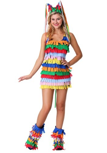 Click Here to buy Sexy Plus Size Pinata Costume from HalloweenCostumes, CDN Funds