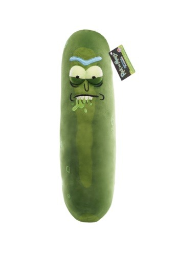 Galactic Plushies: Rick and Morty- 18  Pickle Rick (Biting Lip)