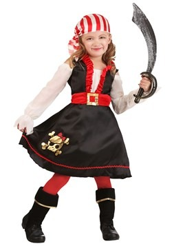 Toddler Girl Pretty Pirate Costume