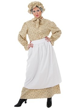 Plus Size Auntie Costume cc
