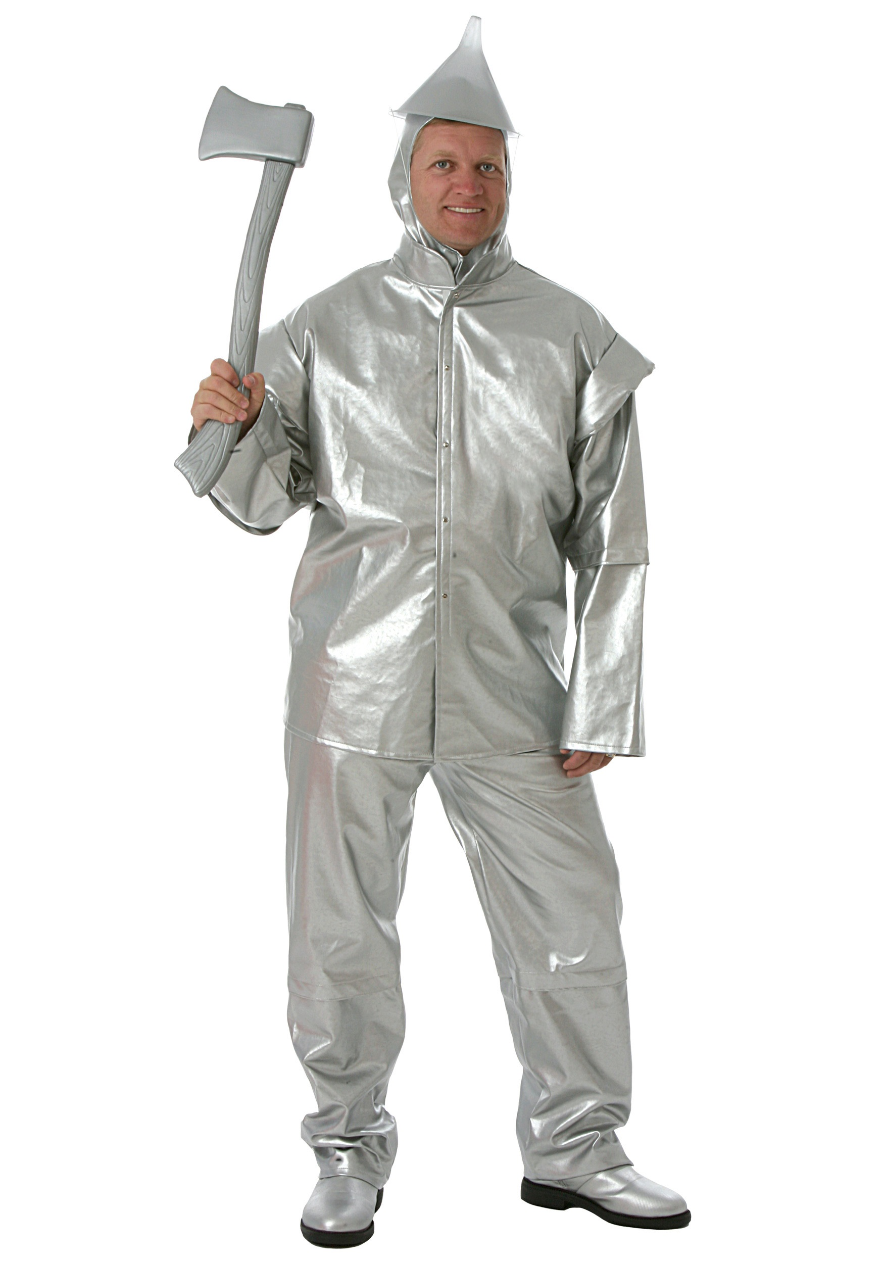 adult deluxe tin woodsman costume