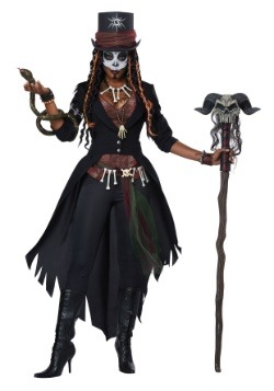 womens voodoo magic costume