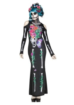 Women's Beautiful Bones Costume