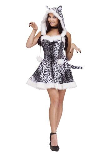 Womens Snow Leopard Costume