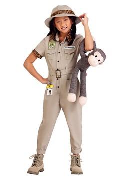 Girls Zookeeper Costume