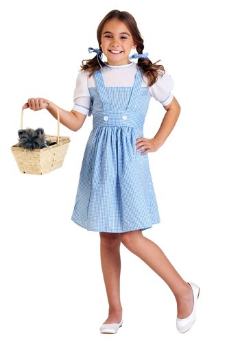 Click Here to buy Kidsrens Kansas Girl Costume from HalloweenCostumes, USA Funds & Shipping
