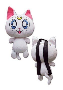 "Sailor Moon Artemis 12.5"" Plush Bag"