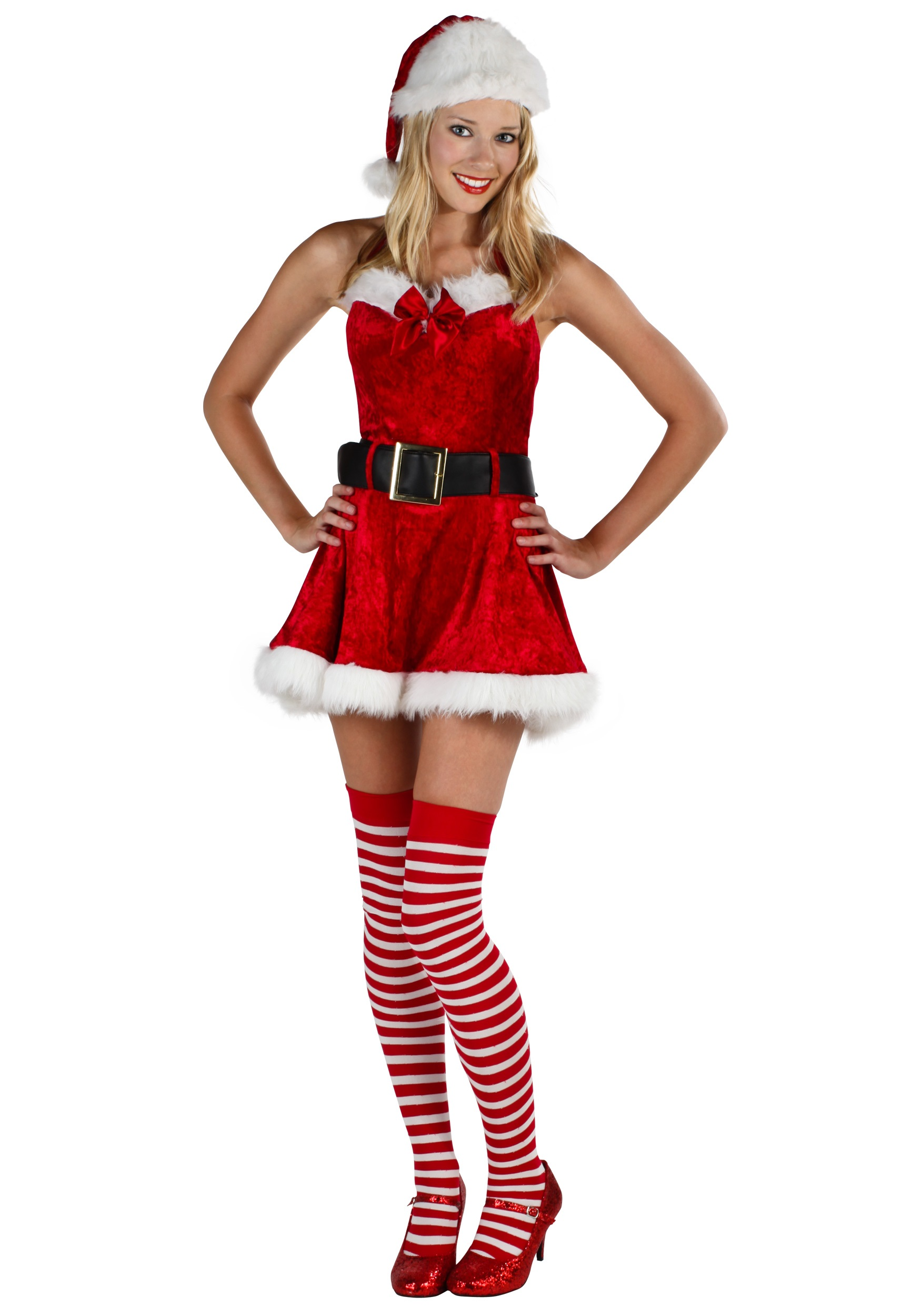 Sexy women in miss claus outfits