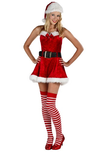 Click Here to buy Plus Size Sexy Mrs Claus Costume from HalloweenCostumes, USA Funds & Shipping