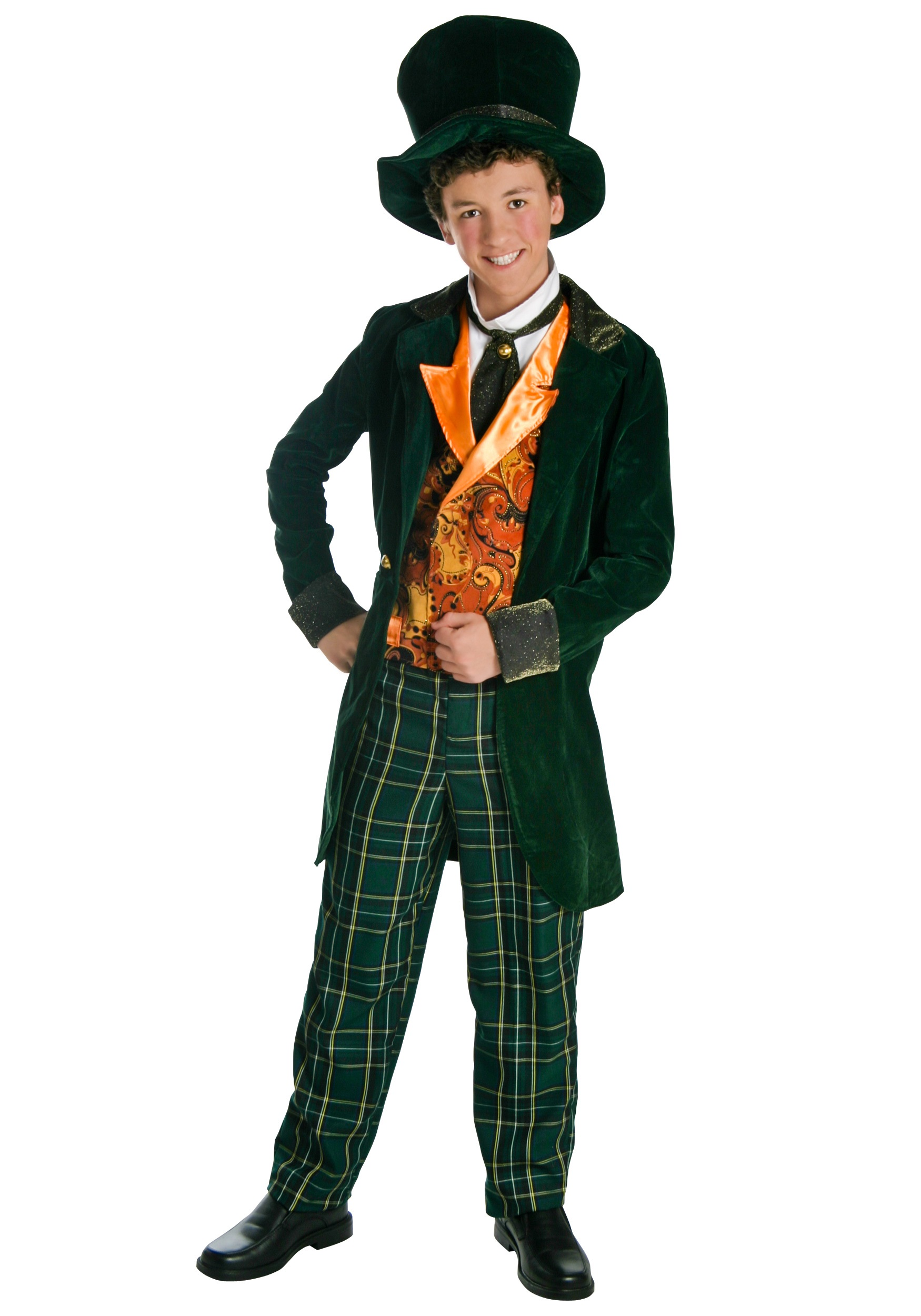 sc 1 st  Halloween Costumes & Deluxe Teen Mad Hatter Costume