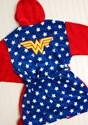 Wonder Woman Hooded Robe for Adults