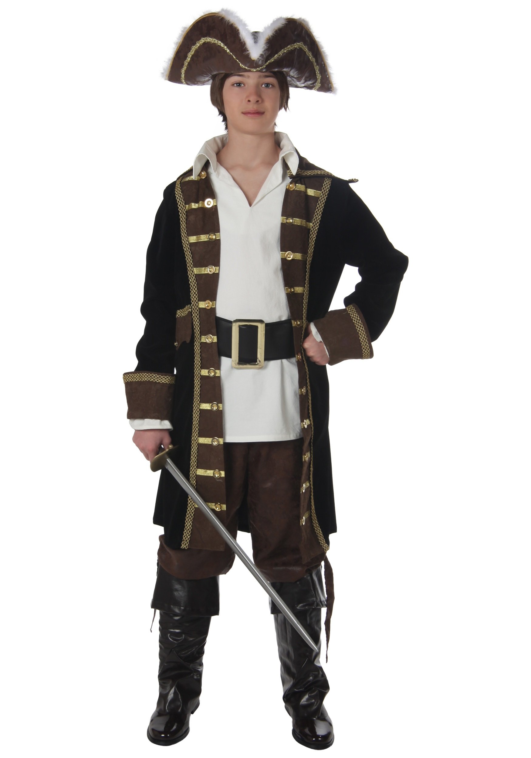 Realistic Pirate Costume for Boys
