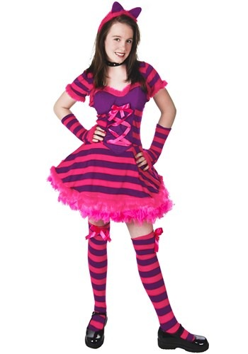 Click Here to buy Teen Wonderland Cat Costume from HalloweenCostumes, USA Funds & Shipping