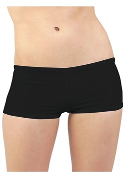 Plus Size Black Hot Pants Update Main