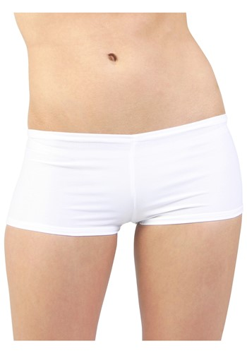 Plus Size White Hot Pants Update Main