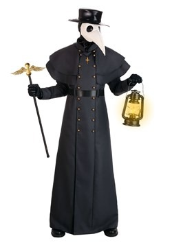 Plus Classic Plague Doctor Costume