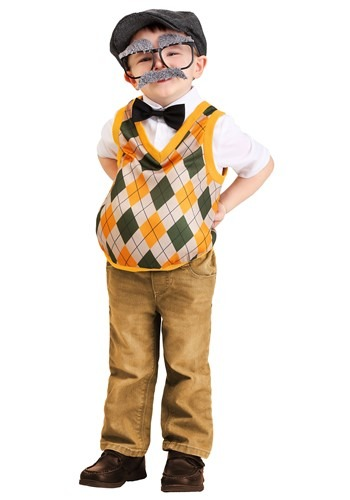 Toddlers Old Man Costume