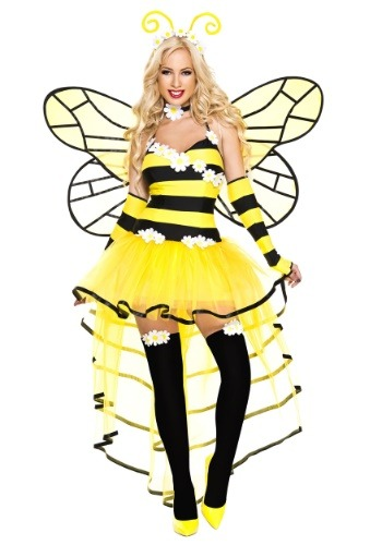 Women's Deluxe Queen Bee Costume Update Main