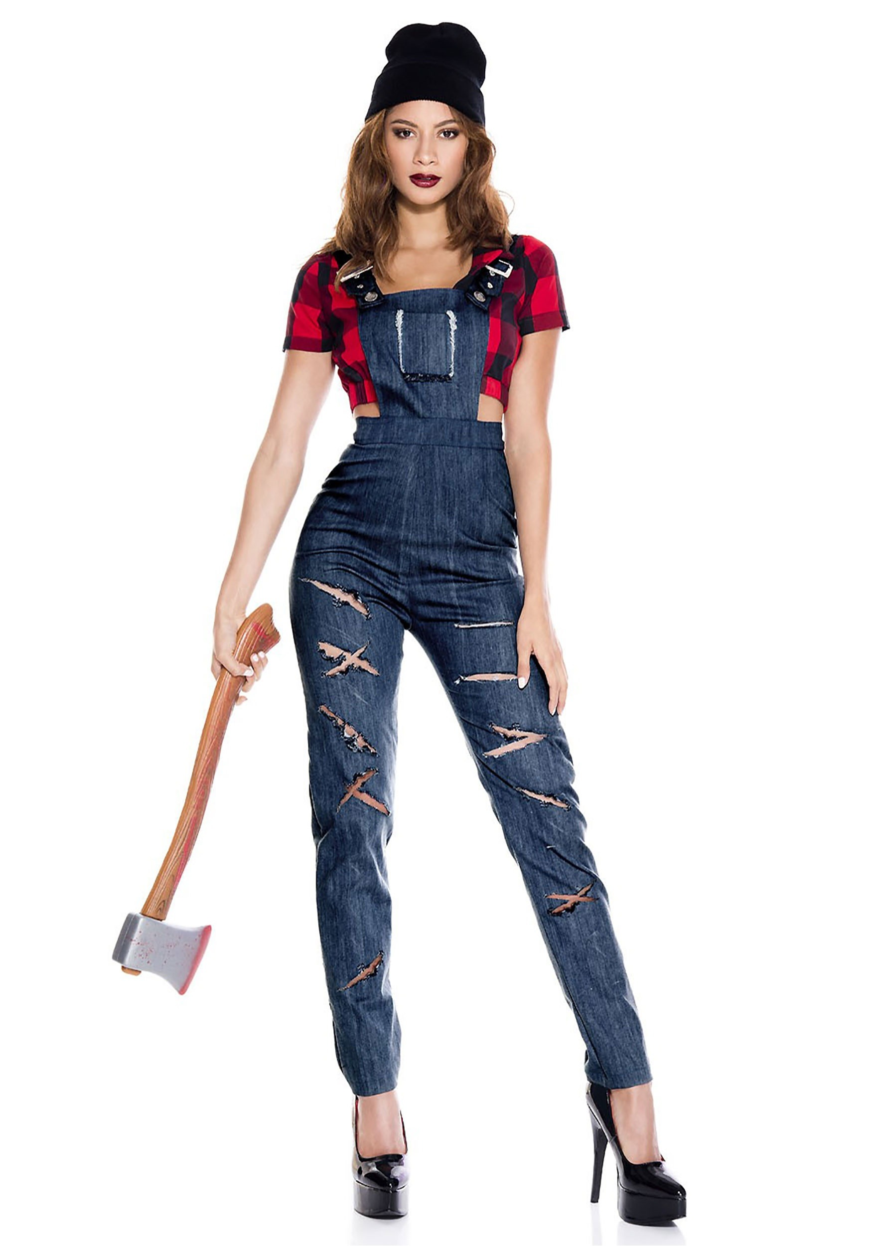 sc 1 st  Halloween Costumes & Womenu0027s Lady Lumberjack Costume