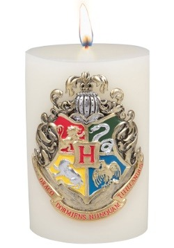 Harry Potter Hogwarts Themed Sculpted Insignia Candle