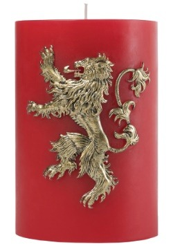 Lannister Sigil Insignia Game of Thrones Candle