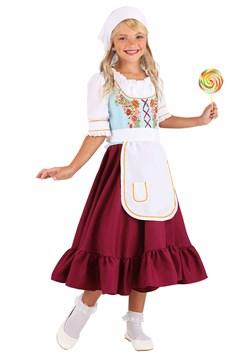 Girl's Storybook Gretal Costume