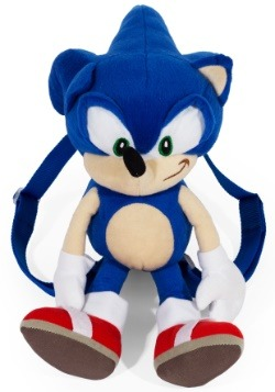"Sonic the Hedgehog 18"" Plush Backpack"