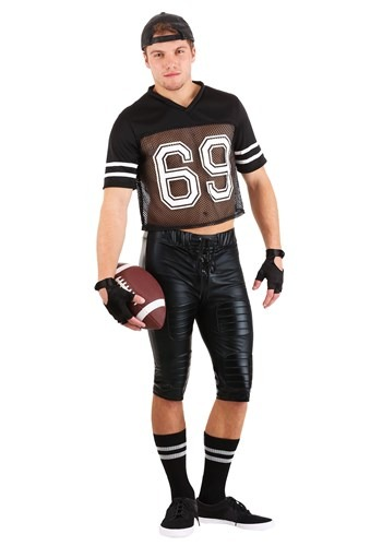Tight End Adult Footballer Costume