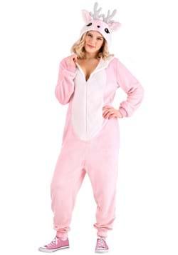 Womens Pink Deer Costume